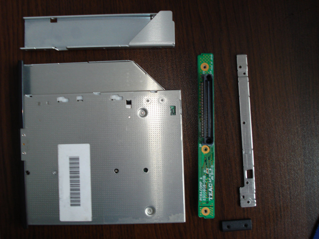 DIY Laptop Optical Drive Bay HDD Caddy | Peter Velichkov's Blog
